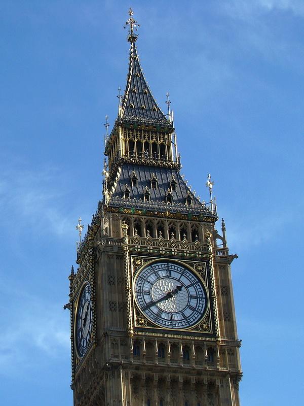Londres, Architecture 3 ; Big Ben et Palais de Westminster