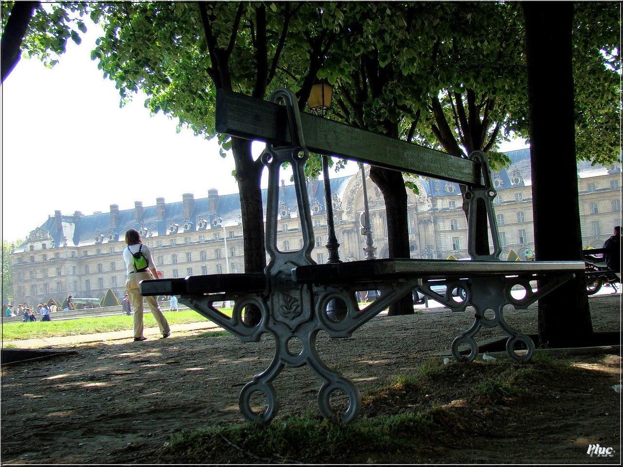 bancs de paris 11 jardin des plantes et jardin du lucembourg. Black Bedroom Furniture Sets. Home Design Ideas