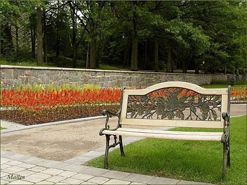 Bancs de la ville de qu bec for Le jardin zoologique