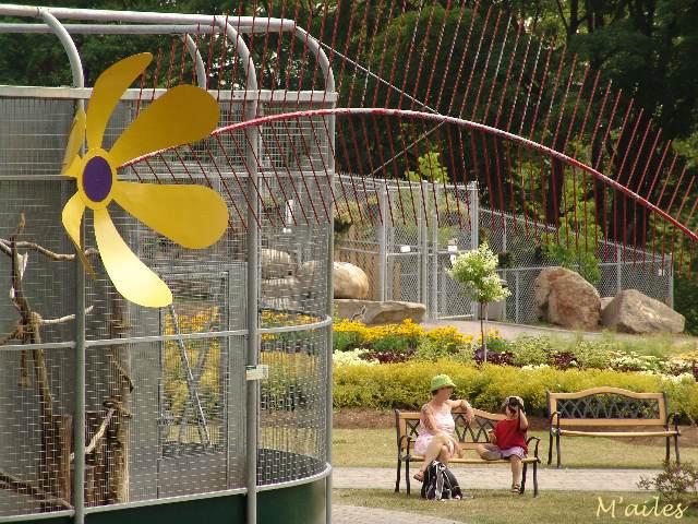 Parc zoologique de qu bec les bancs publics 2 for Jardin zoologique