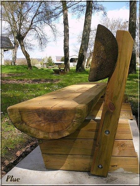 pin banc de bois au on pinterest. Black Bedroom Furniture Sets. Home Design Ideas