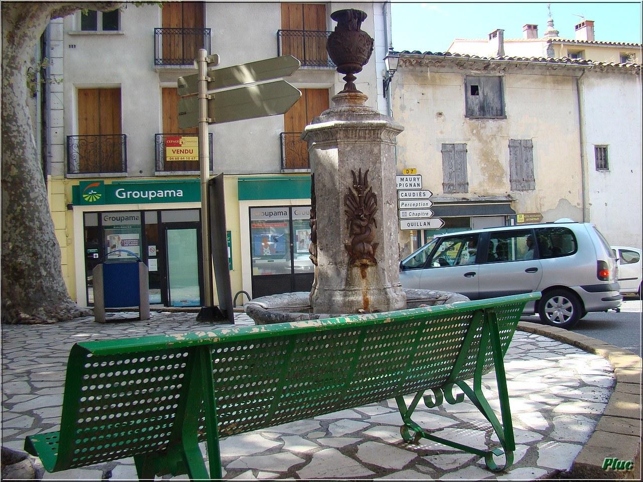 Bancs Publics De Saint Paul Fenouillet  Photos Daoût 2011